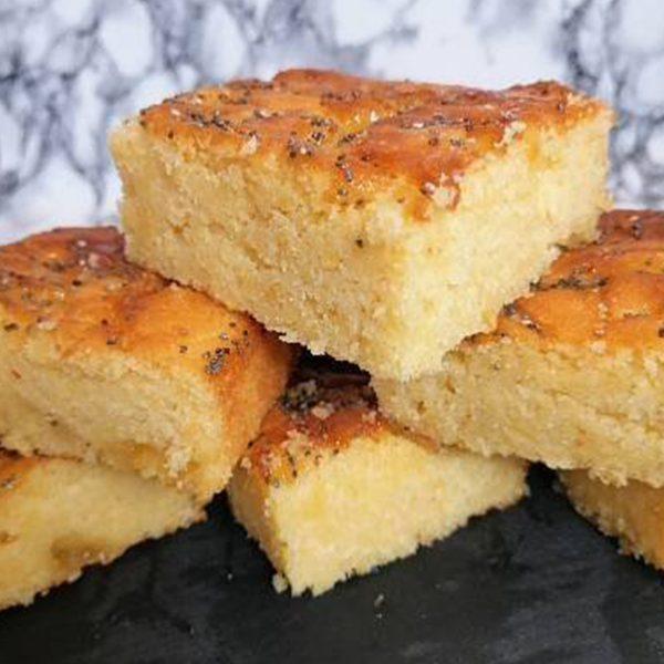 Lemon and Poppy Seed Bake Slices | Cakemagic | Regina Brennan