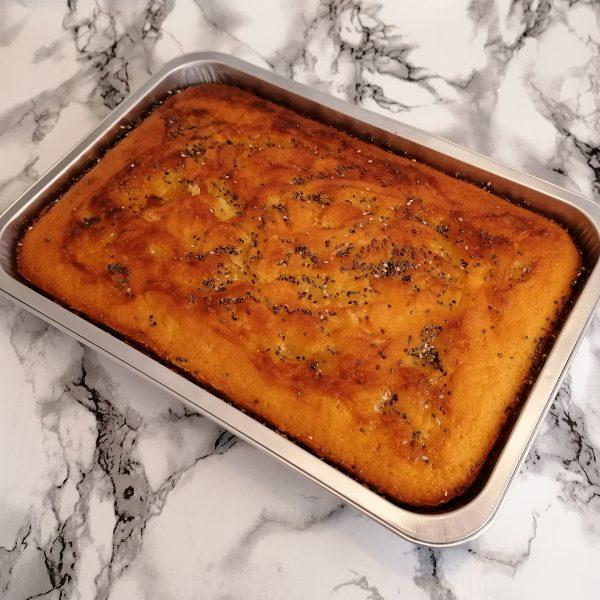 Lemon and Poppy Seed Bake Tray | Cakemagic | Regina Brennan